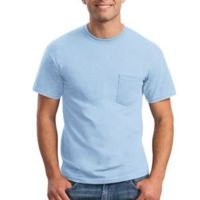 Gildan Ultra Cotton ® 6oz 100% Cotton T Shirt with Pocket Thumbnail