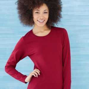 Heavy Cotton Missy Fit Long Sleeve T-Shirt Thumbnail