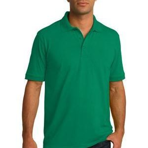 KP55-Core Blend Jersey Knit Polo Thumbnail