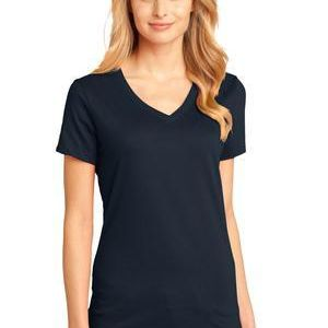 District Made® - Ladies Perfect Weight® V-Neck Tee - DTG Thumbnail